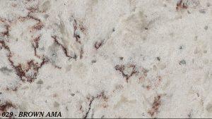 Marmoles Escudero - Quartz Compac - 029-BROWN-AMA