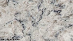Marmoles Escudero - Quartz Compac - 030-BLACK-AMA